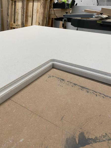 Corian solid surface worktops -